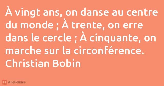 Christian Bobin à Vingt Ans On Danse Au Centre Du Monde